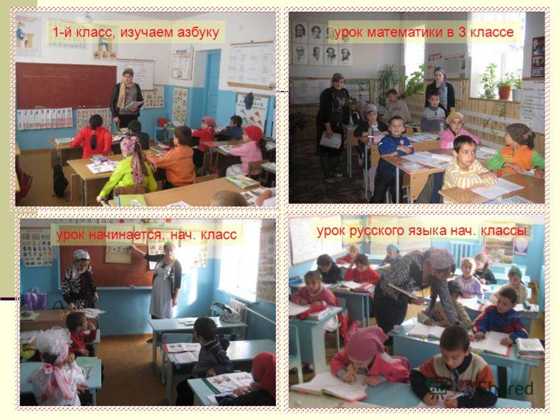 1-й класс, изучаем азбукуурок математики в 3 классе урок начинается. нач. класс урок русского языка нач. классы