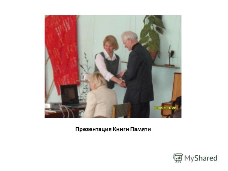 Презентация Книги Памяти