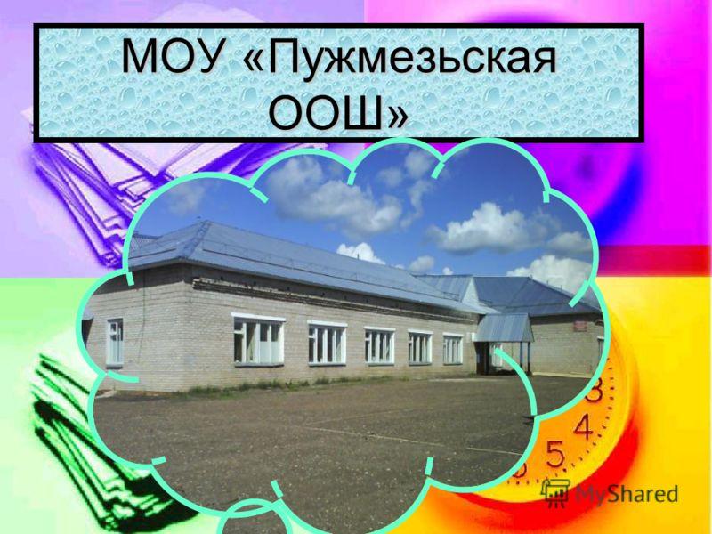 МОУ «Пужмезьская ООШ»