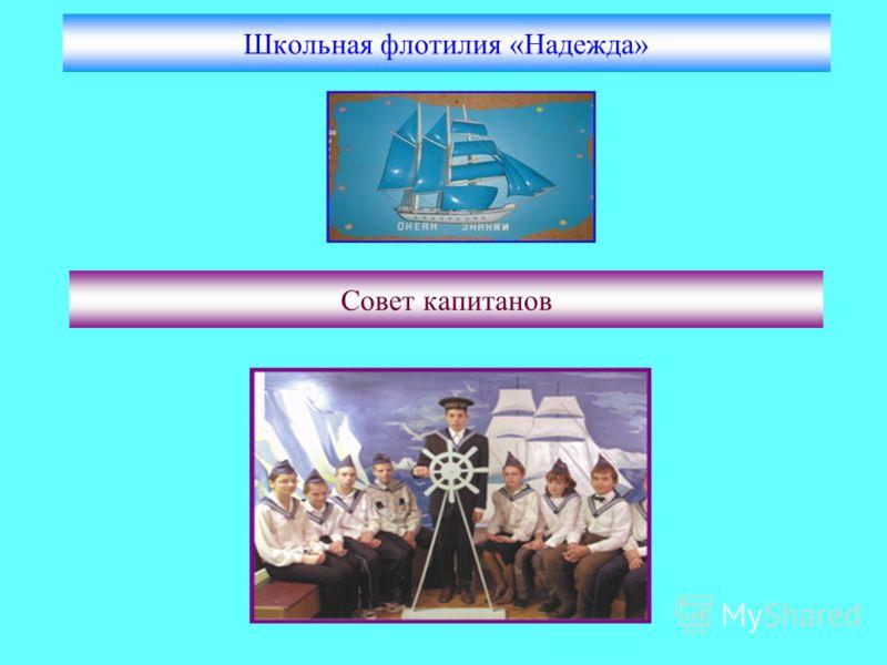 Школьная флотилия «Надежда» Совет капитанов