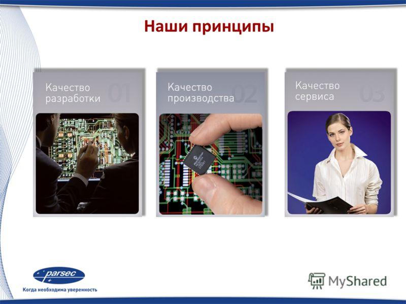 История развития компании 1.Основана в 1995 г. 2.Установка СКД стороннего производства 3.С 1997 г. производство собственного оборудования 4.С 1998 г. выпуск собственной сетевой СКУД ParsecLight 5.С 2003 г. СКУД выходит под именем ParsecNet
