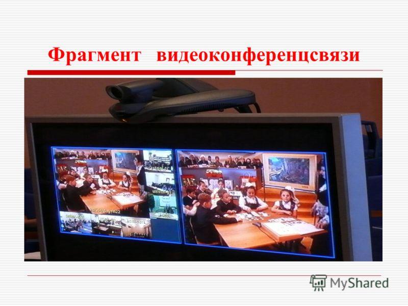 Фрагмент видеоконференцсвязи