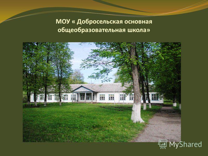 МОУ « Добросельская основная общеобразовательная школа»