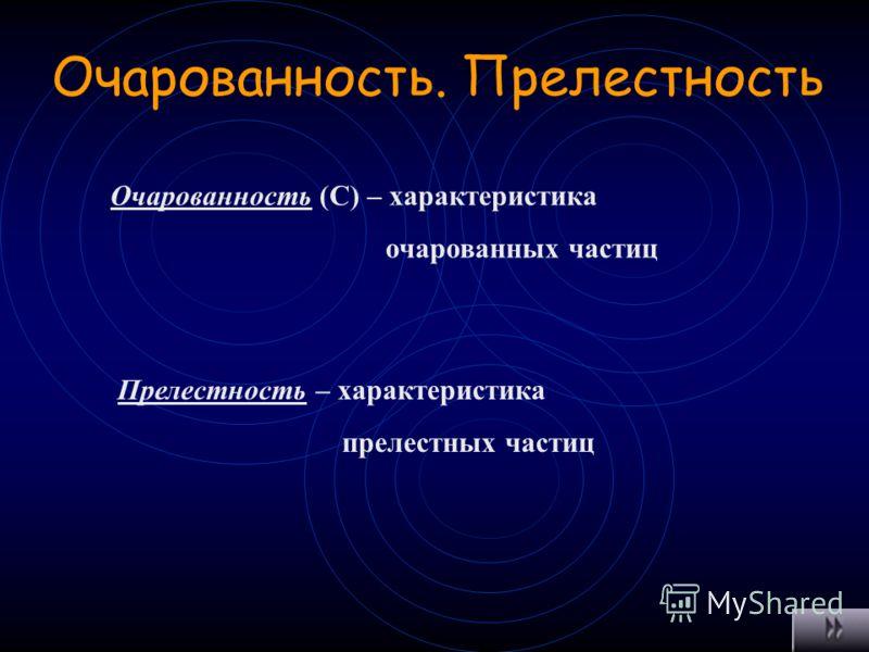 Изоспин (изотопический спин) J – внутренняя характеристика адронов,определяющая число n частиц в изотопном мультиплете Число частиц n= 2 J +1
