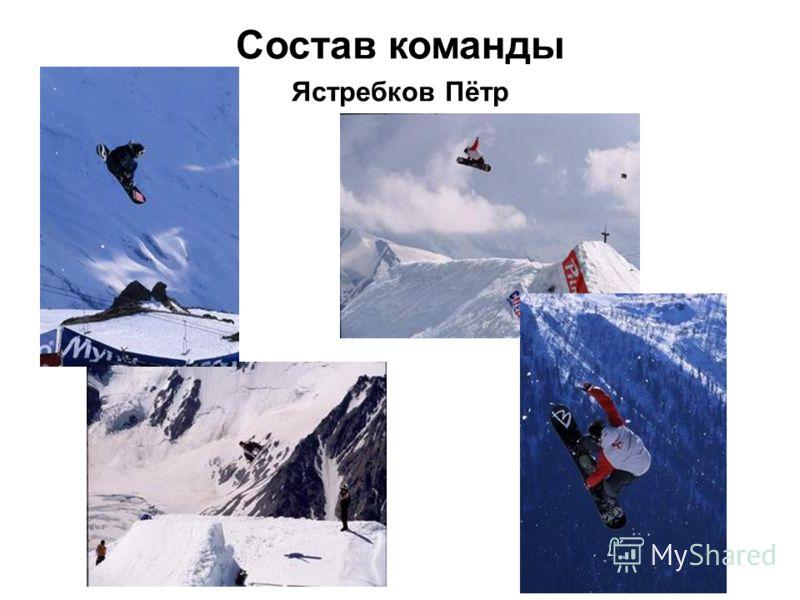 Состав команды Ястребков Пётр