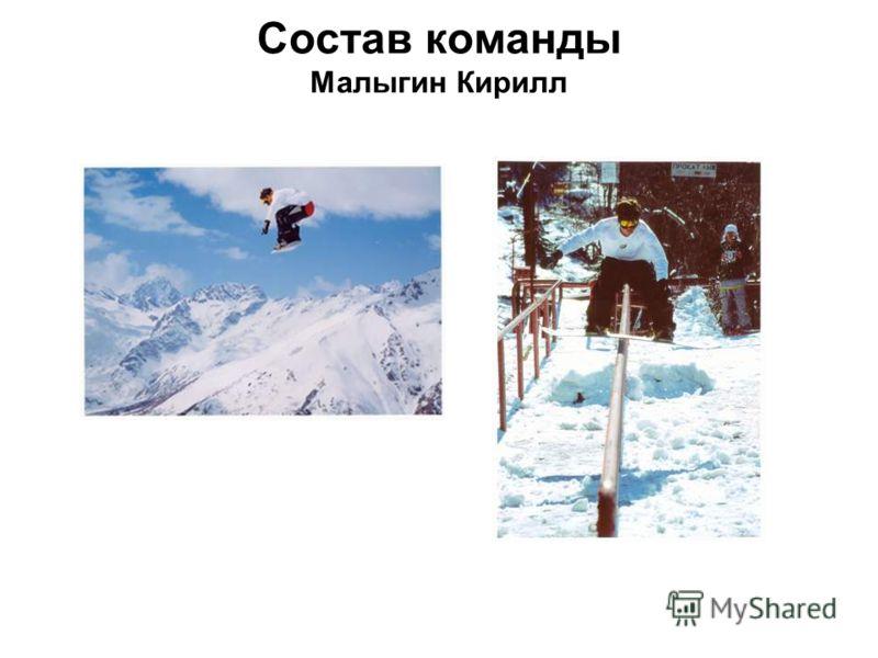 Состав команды Малыгин Кирилл