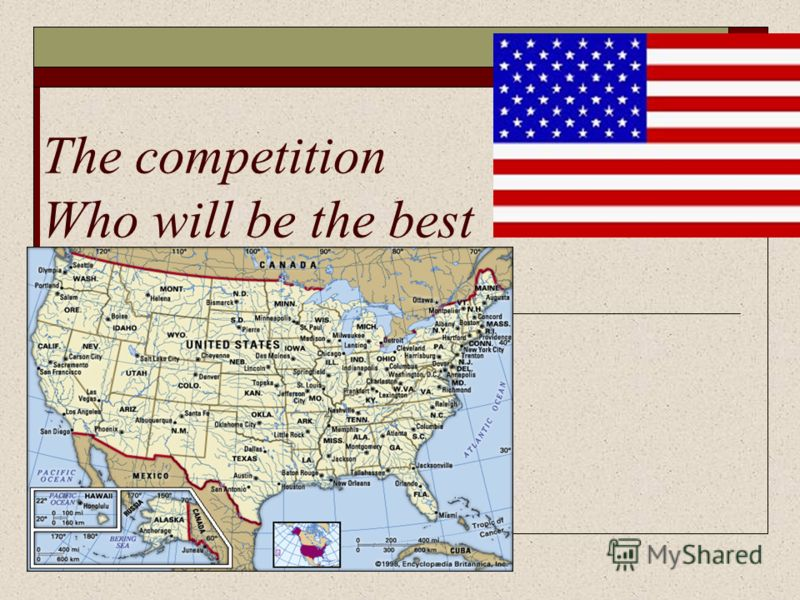 The competition Who will be the best