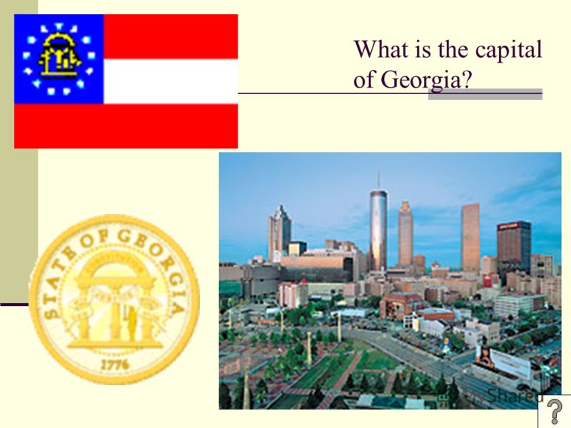 What is the capital of Georgia?