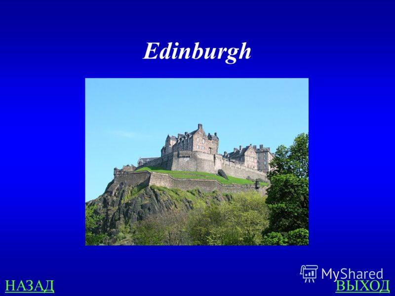 COUNTRIES 300 What is the capital of Scotland?