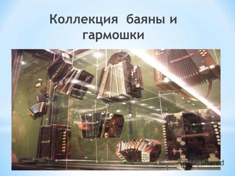 Коллекция баяны и гармошки