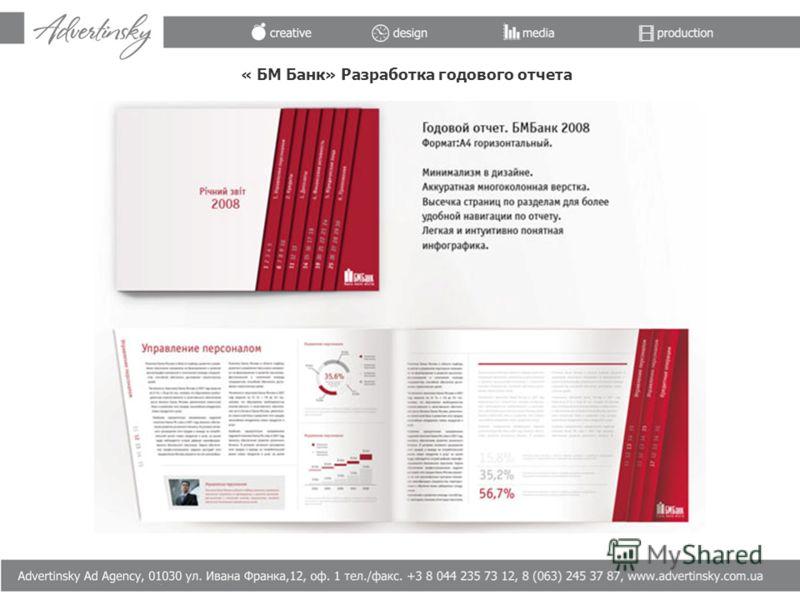 « БМ Банк» Разработка годового отчета