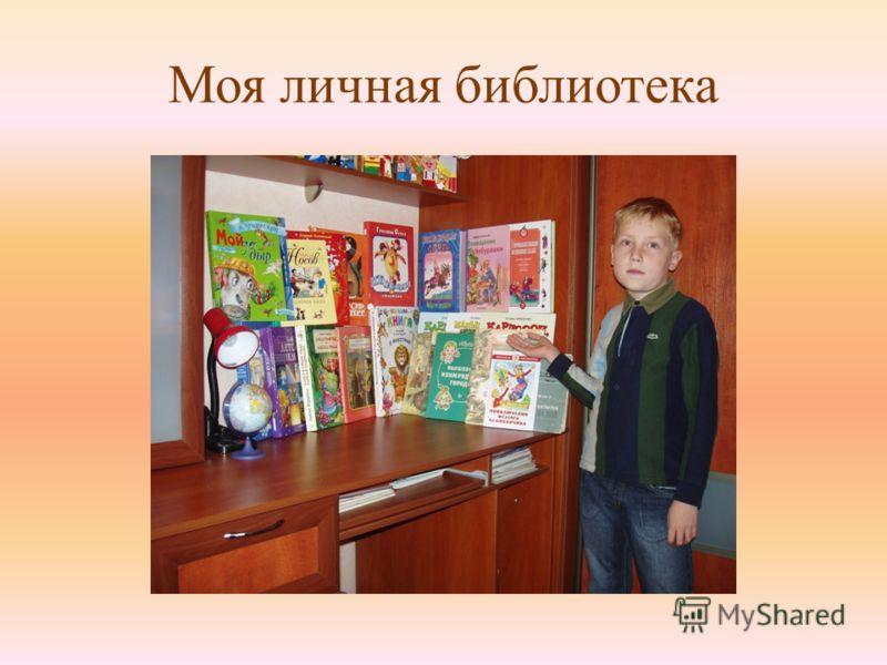Моя личная библиотека