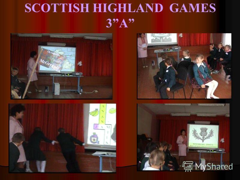 SCOTTISH HIGHLAND GAMES 3A