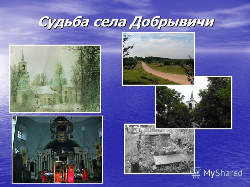Судьба села Добрывичи