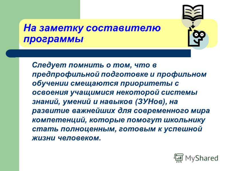 7. Список литературы, который использовался при составлении программы. 8. Приложения: Разработки уроков (1- 2-х), дискуссий, кроссворды Разработки способов решения задач и т.п.