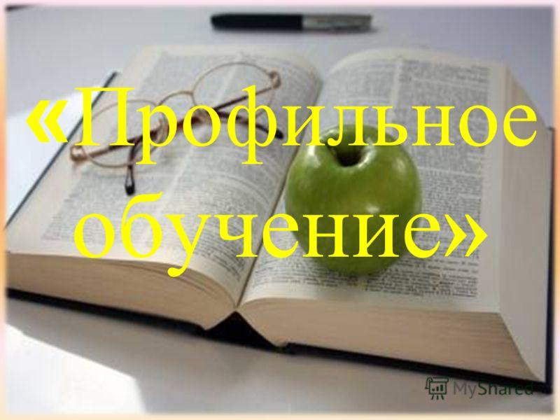 « Профильное обучение»