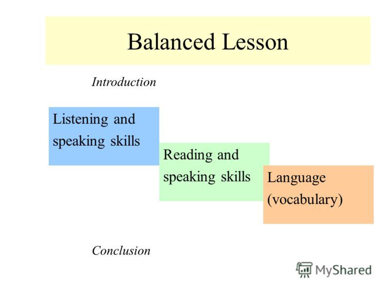 Presentation Practice Production Language Lesson Grammar // Vocabulary