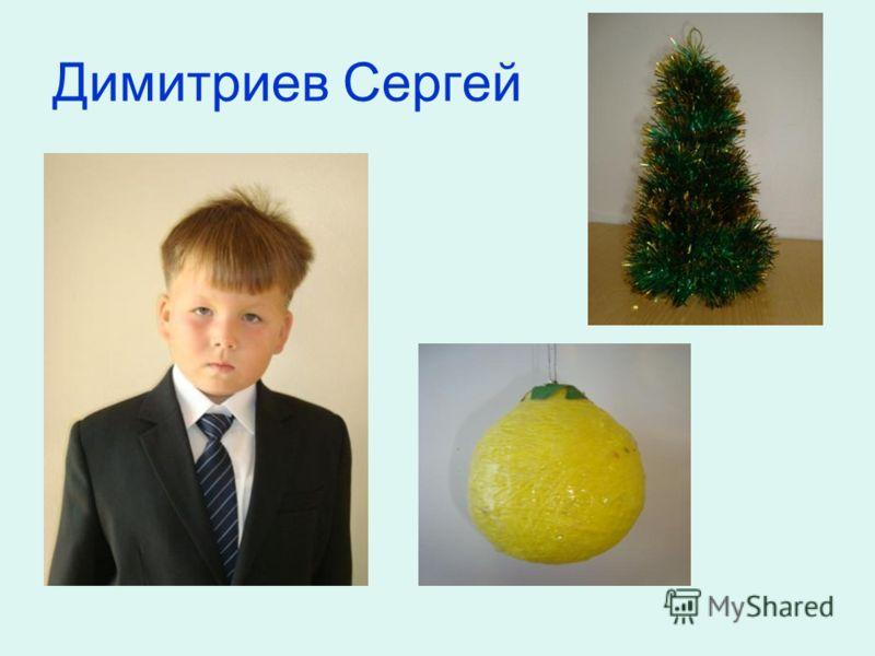 Димитриев Сергей