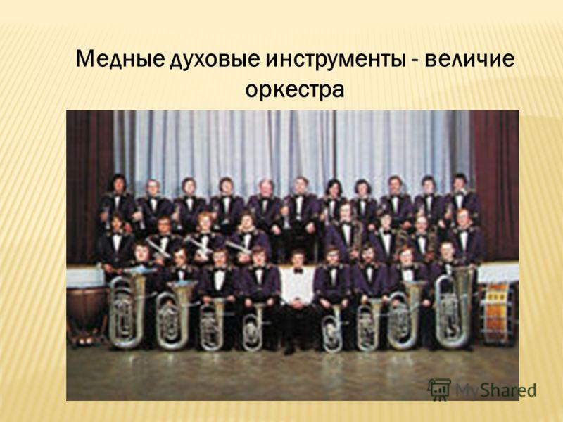 Медные духовые инструменты - величие оркестра