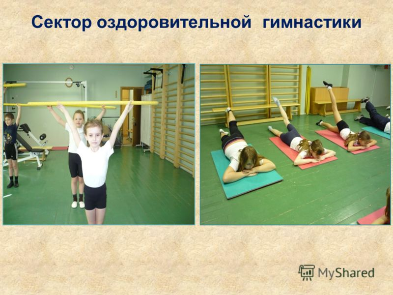 Сектор оздоровительной гимнастики