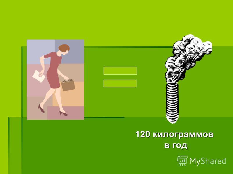 120 килограммов в год в год