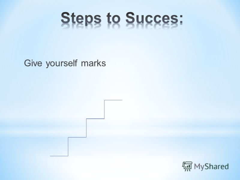 Give yourself marks