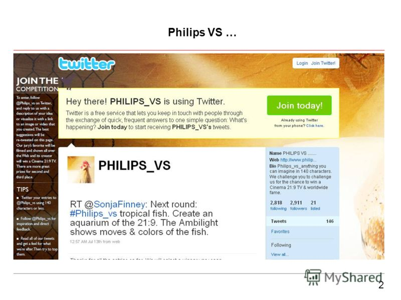 2 Philips VS …