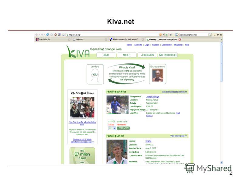 2 Kiva.net