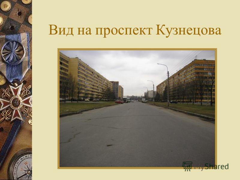Вид на проспект Кузнецова