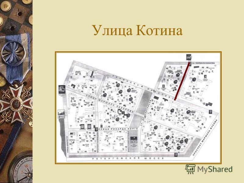 Улица Котина