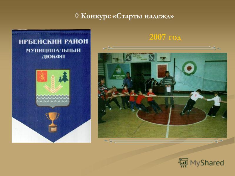Конкурс «Старты надежд» 2007 год