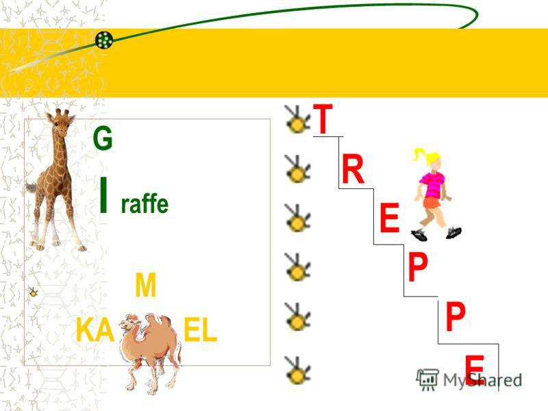 G I raffe M KA EL T R E P E