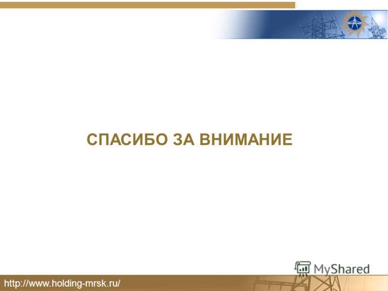 СПАСИБО ЗА ВНИМАНИЕ http://www.holding-mrsk.ru/