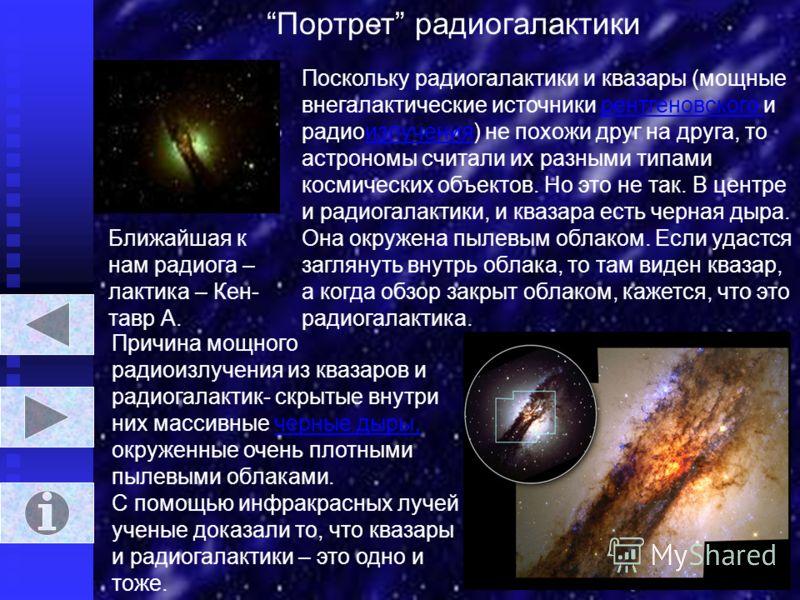 На рисунках показаны галактики, не описываемые в презентации.