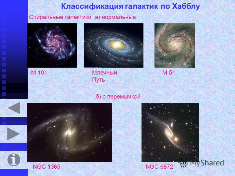 Галактики – гигантские звёздные системы – разделены в пространстве огромными расстояниями. В состав галактик входят миллиарды звёзд с планетными системами, облака межзвёздного газа, ядро. Галактика, в которой мы живём, называется Млечный Путь. Она от