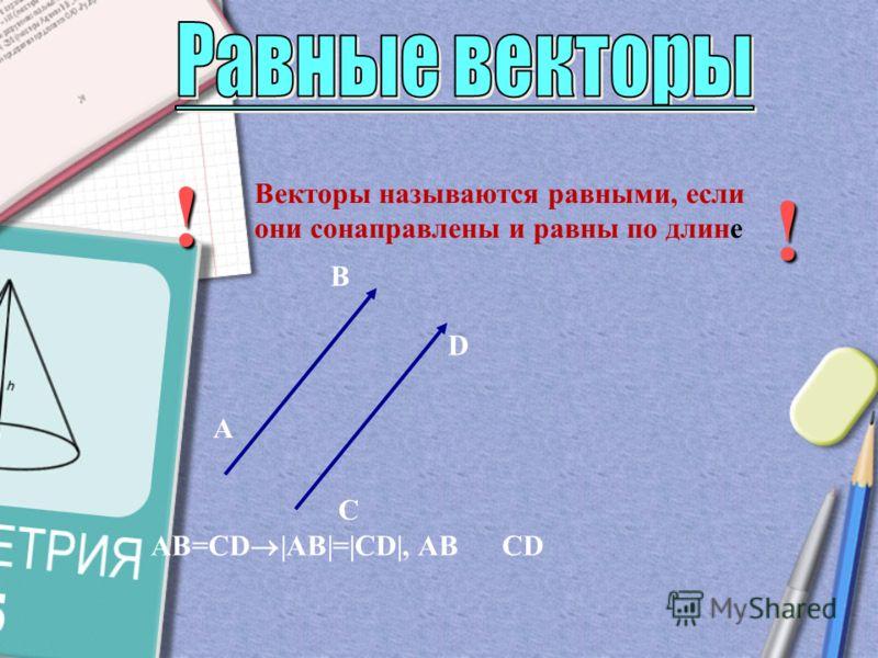 B Векторы называются коллинеарными, если они лежат на параллельных прямых или на одной прямой а b c a b c d d c b