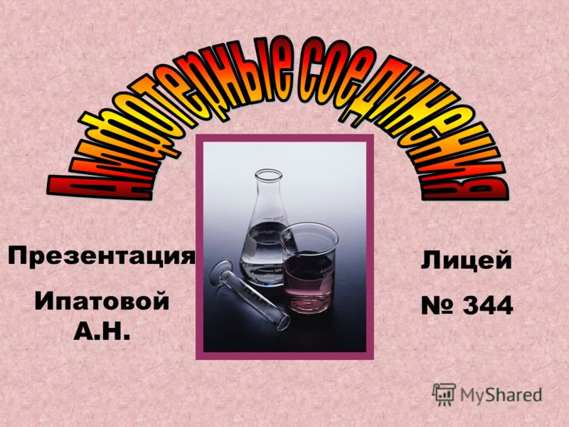 Презентация Ипатовой А.Н. Лицей 344