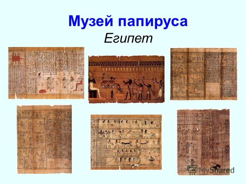 Музей папируса Египет