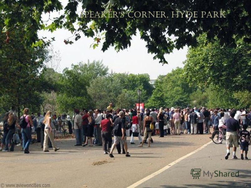 Speaker's Corner,Hyde Park Speaker's Corner, Hyde Park