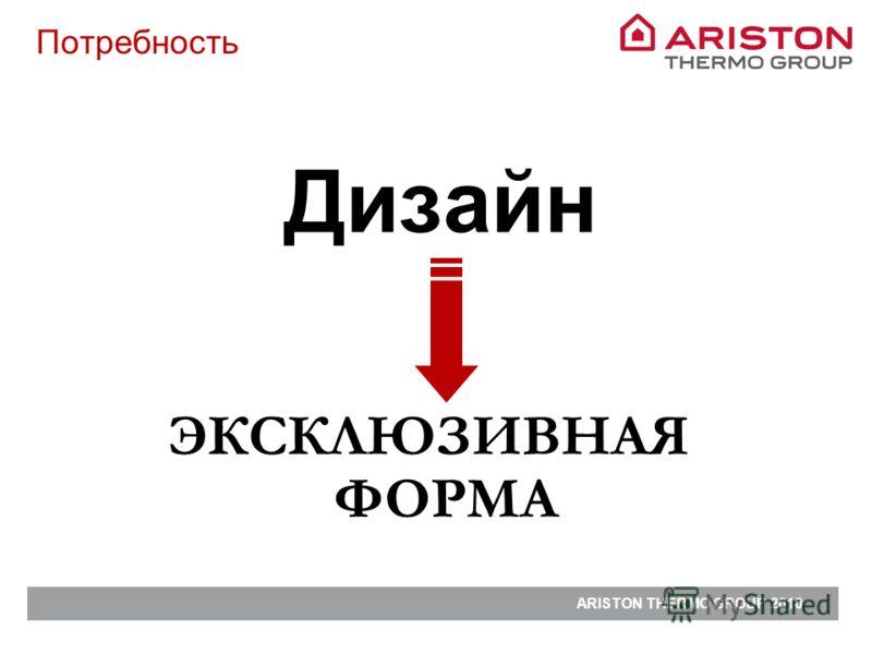 Дизайн Потребность ЭКСКЛЮЗИВНАЯ ФОРМА