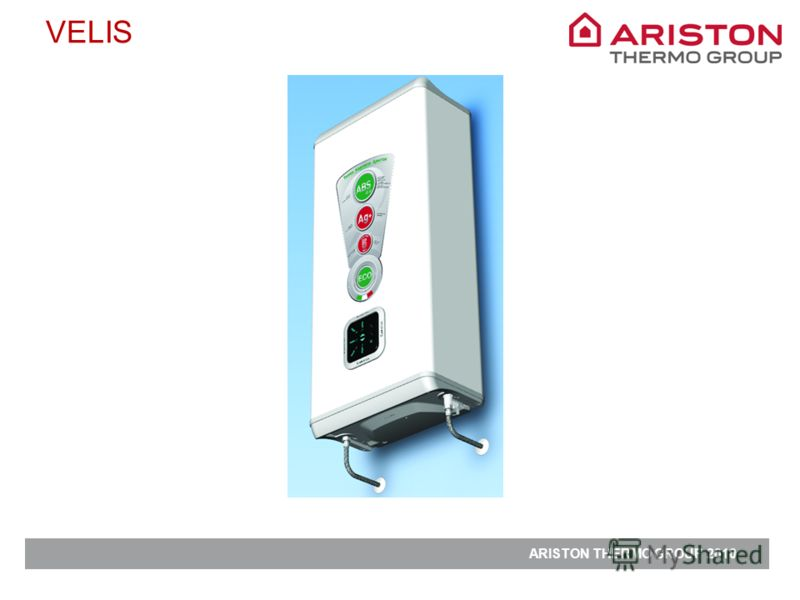 ARISTON THERMO GROUP 2010 VELIS