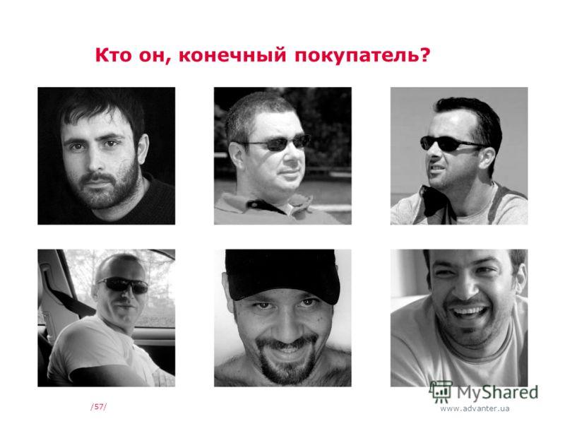 www.advanter.ua /57/ Кто он, конечный покупатель?