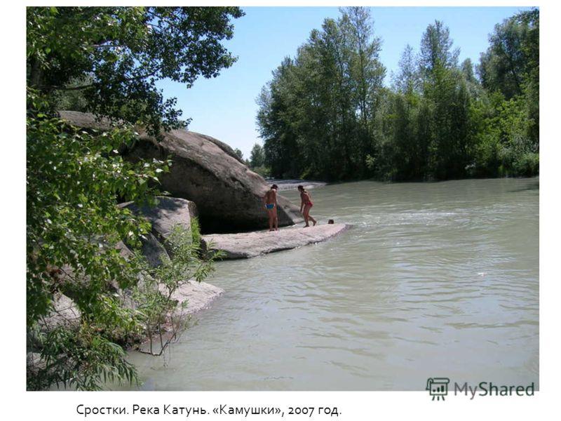 Сростки. Река Катунь. «Камушки», 2007 год.
