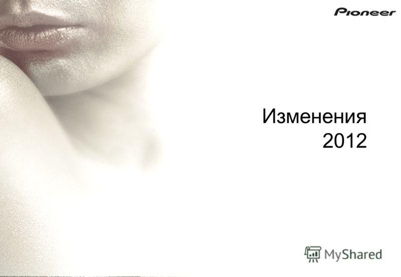 Изменения 2012
