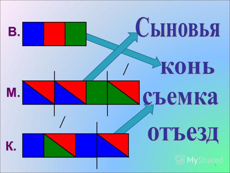 4 В. М. К.