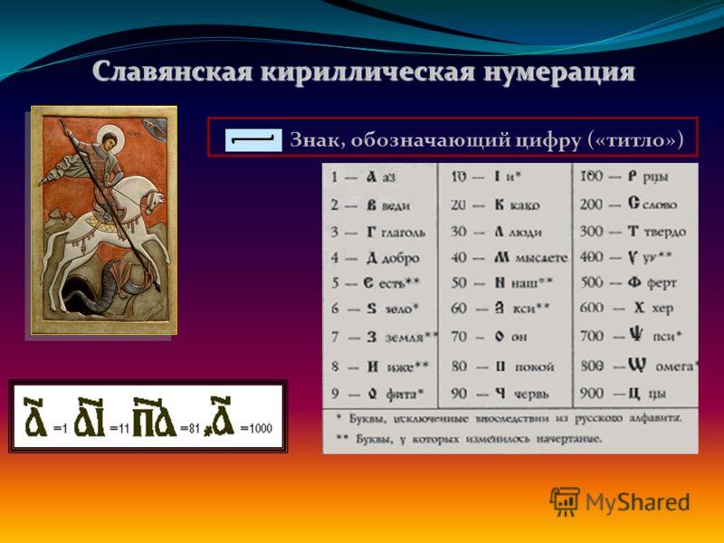 Алфавитные системы счисления. Древнегреческая нумерация. В Древней Греции числа 1,2,….9 обозначали первыми девятью буквами греческого алфавита: ά (Альфа) = 1, β (Бета) = 2, γ (Гамма) = 3 и т.д.. Для обозначения десятков применялись следующие девять б