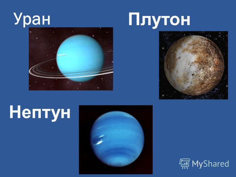 Уран Нептун Плутон