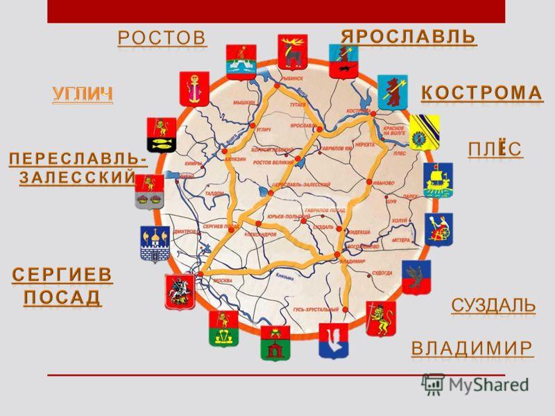 Презентация на тему Золотое кольцо России Презентация к уроку  3
