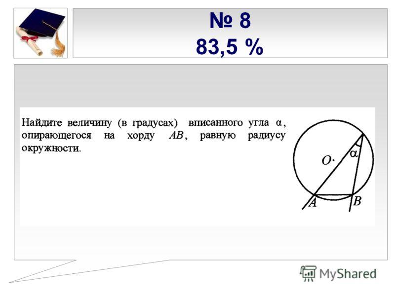 8 83,5 %