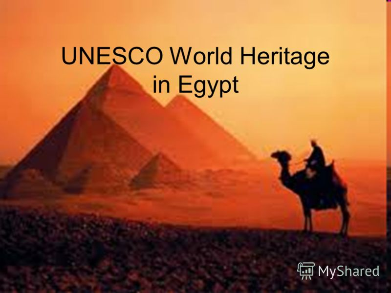 UNESCO World Heritage in Egypt